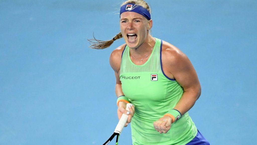 Kiki Bertens is door naar vierde ronde Australian Open