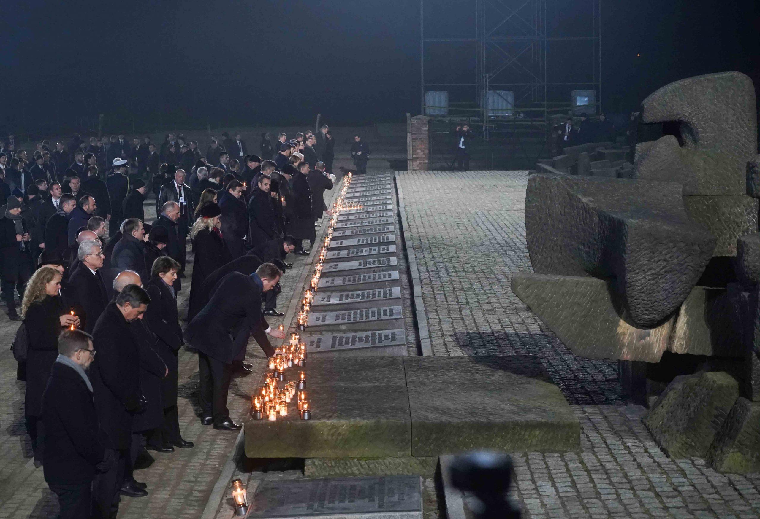 75 jaar vrijheid herdenking AUschwitz.