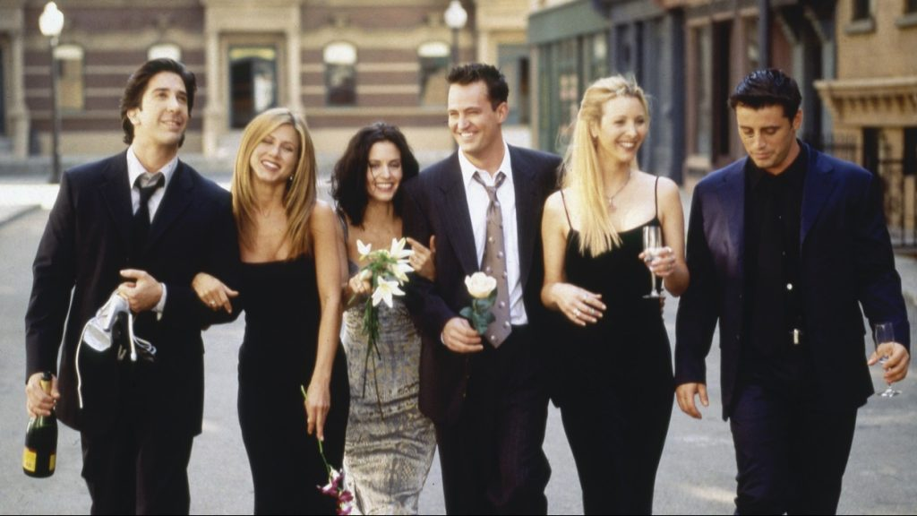 Tweet Matthew Perry Friends reunie