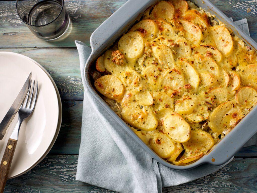 ovenschotel witlof gehakt aardappel