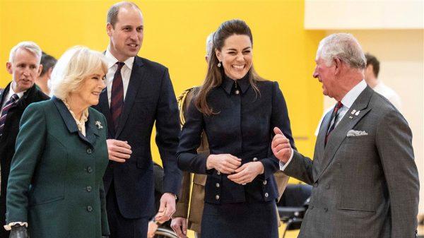 Royal Fab Four - William, Kate, Charles en Camilla