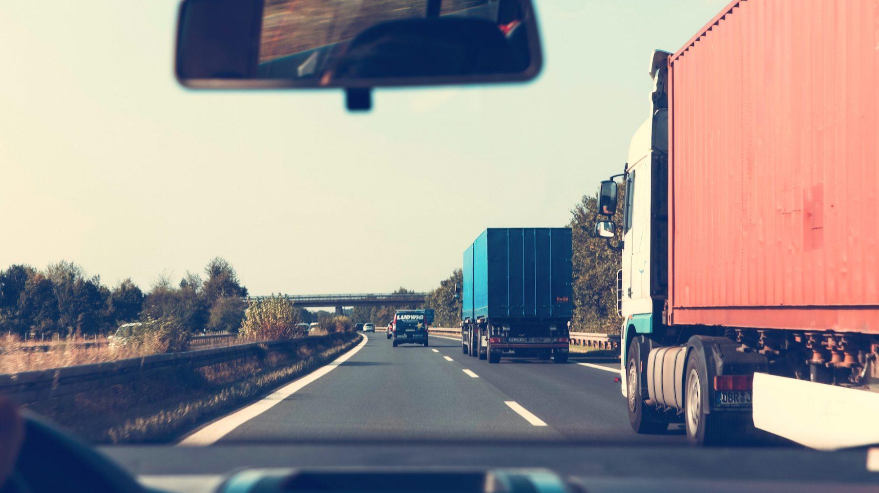 Trucker redt bejaarde bestuurder