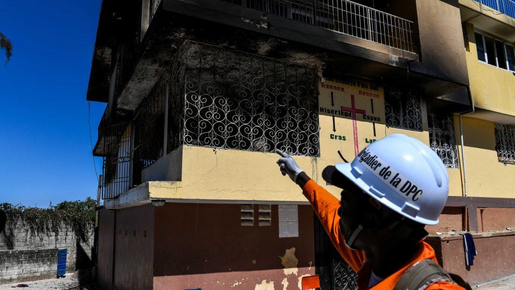 Vijftien kinderen en zuigelingen omgekomen bij brand Haïtiaans weeshuis