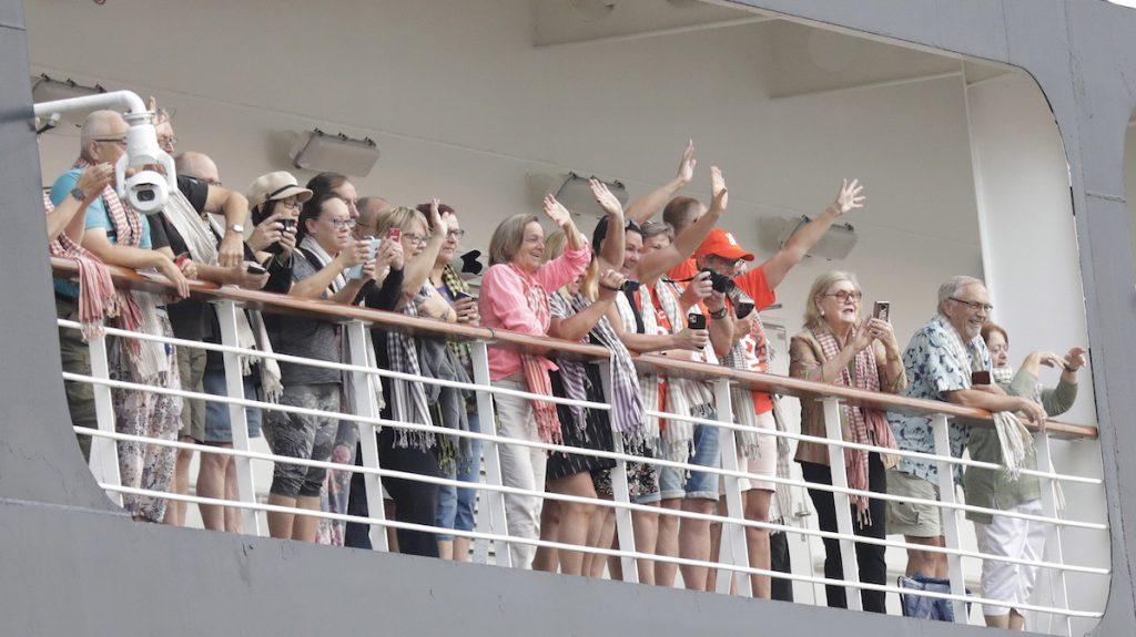 Vastgezeten passagiers van cruiseschip Westerdam: 'Het was heerlijk'