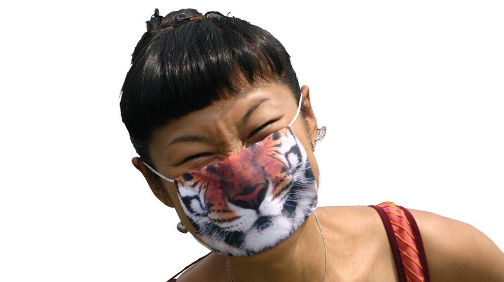Samira Boon ontwerpt kleurrijke mondkapjes: 'Ook om mensen op te vrolijken'
