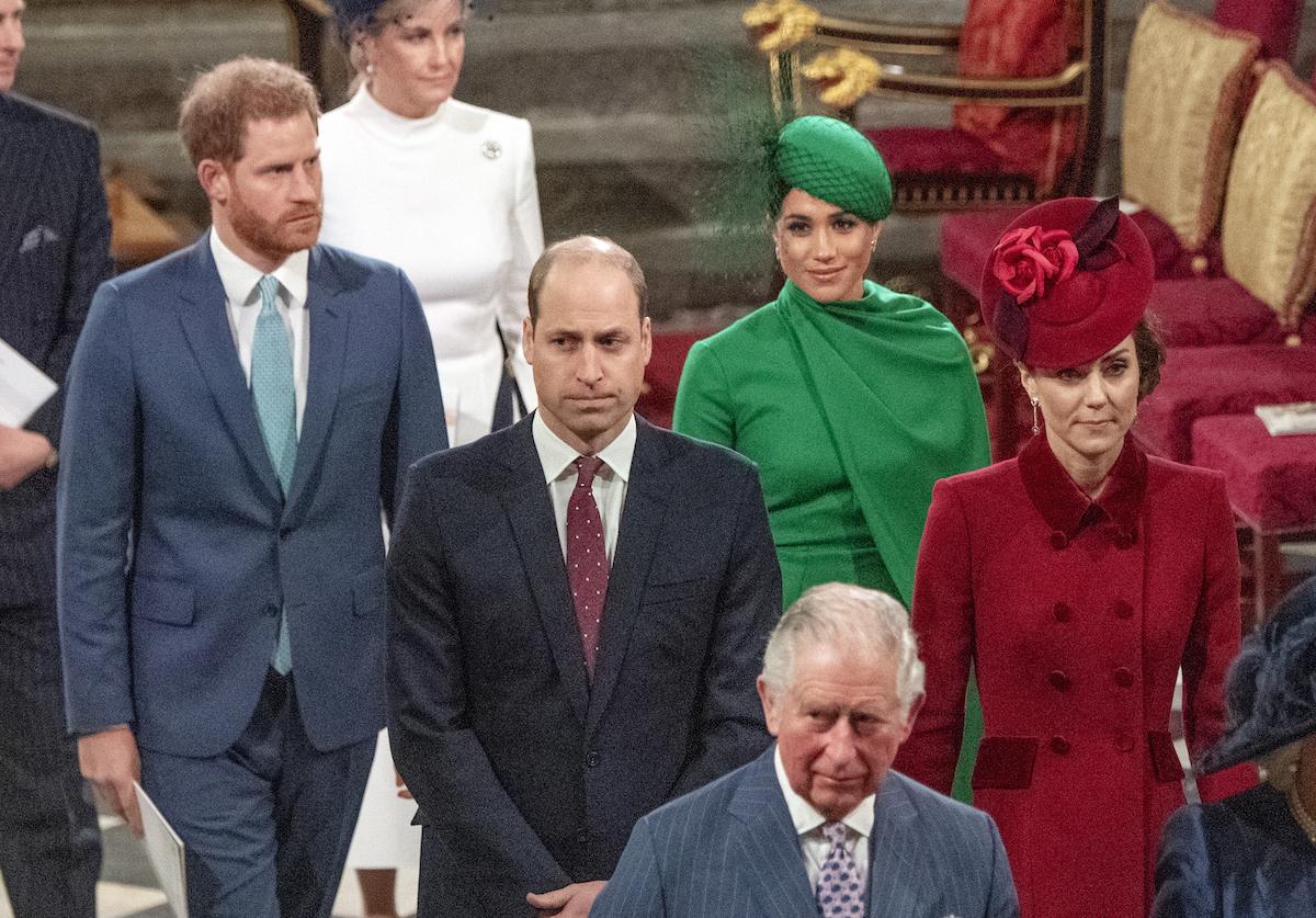 Meghan en Harry voor de laatste keer als 'senior Royals'