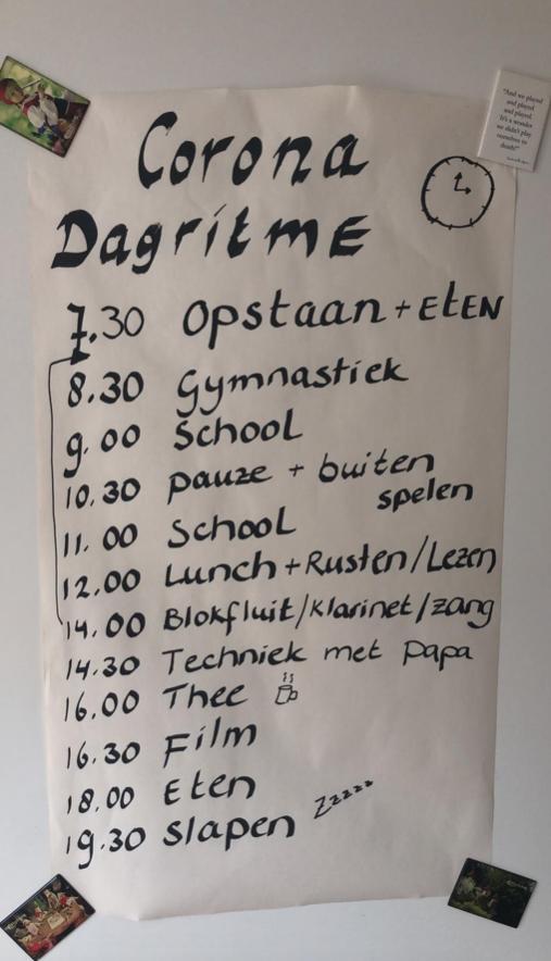 sofie dagboek quarantaine