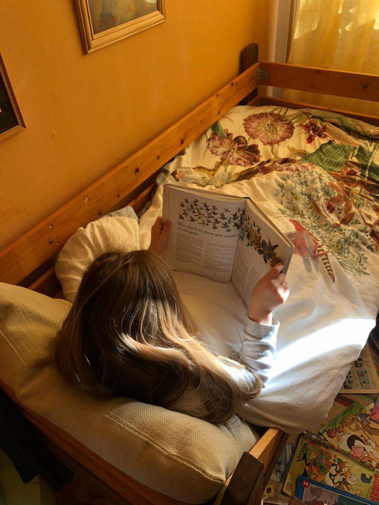 dagboek sofie dochter lezen bed