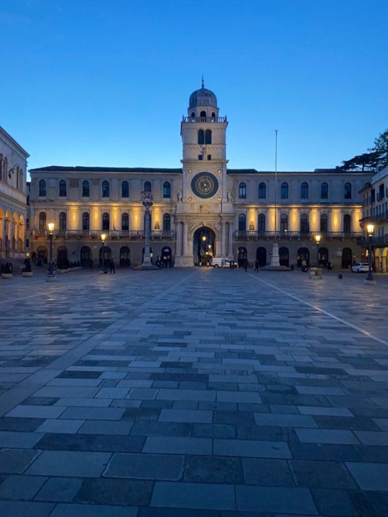 pleinen leeg Padua Italie