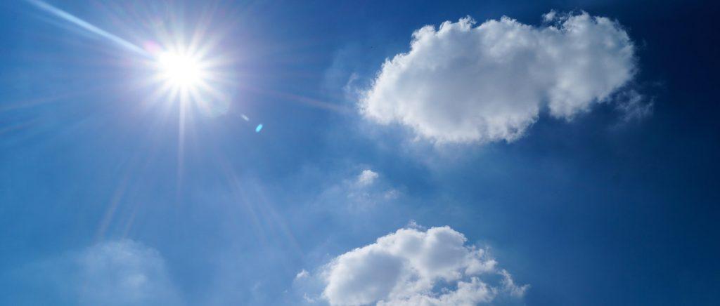 Dit kunnen we wel gebruiken: vanaf vandaag zonovergoten periode