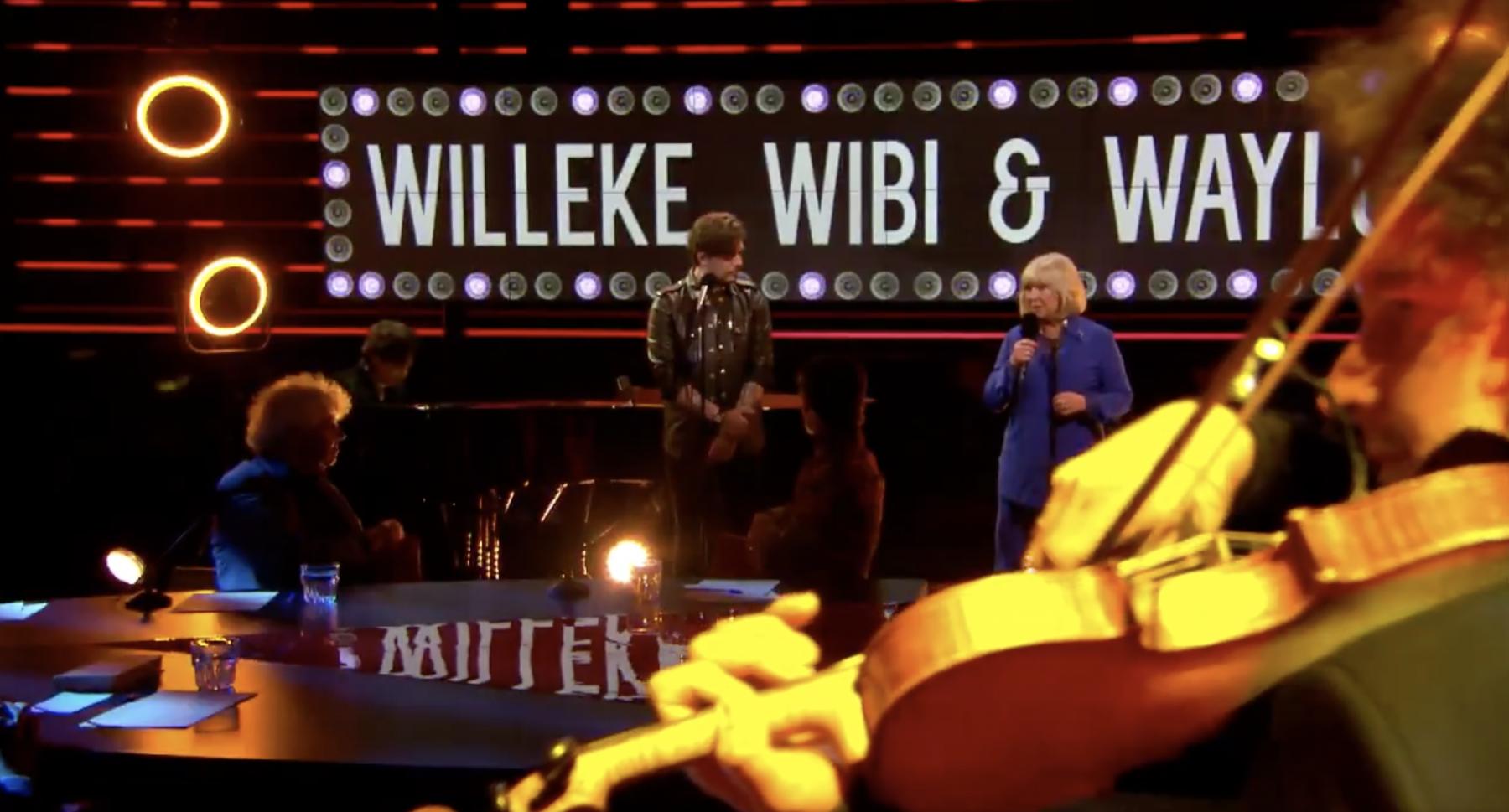 Prachtig optreden van opmerkelijk trio: Willeke Alberti, Waylon en Wibi Soerjadi treden samen op
