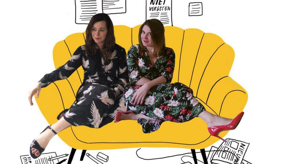Maartje en Lona schreven een boek over niksen Netflix is net niet niksen
