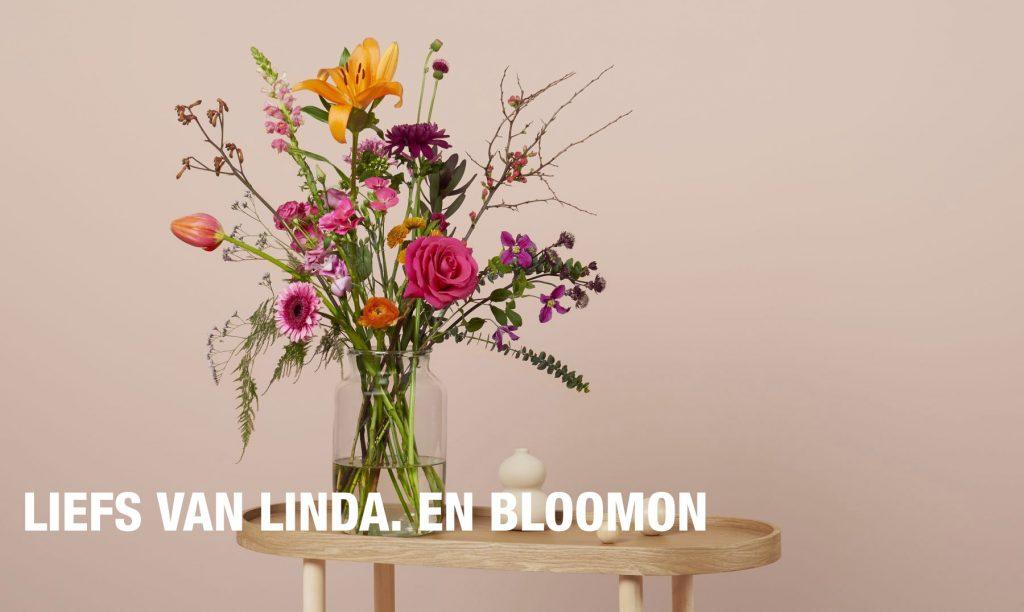 Maak iemand blij met bloemen, de nieuwste LINDA. en een lief kaartje