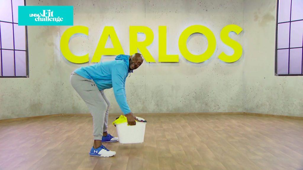Carlos Lens tipt: 'Rugspieren train je tijdens het doen van de was'