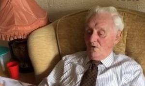 94-jarige veteraan verrast door verpleging