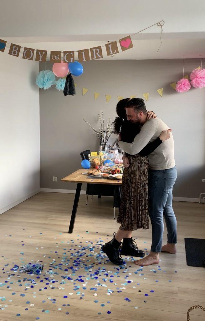 Dewi en Wouter tijdens de zwangerschap