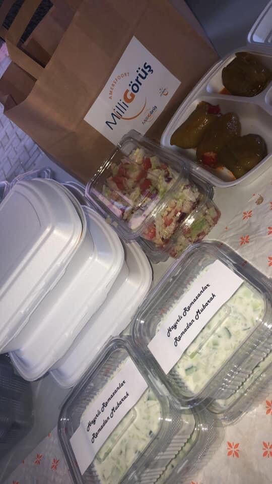 Ramadan iftar pakketten