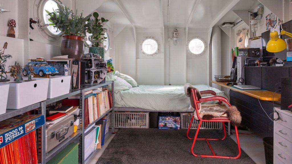 Slaapkamer lichtschip