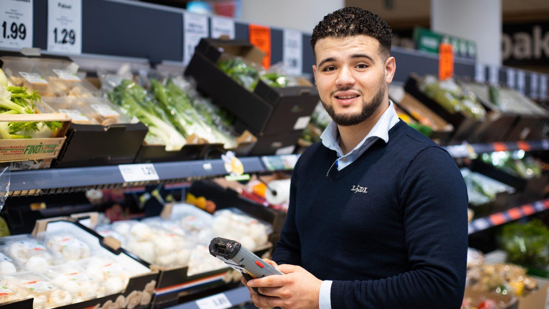 redouan assakali lidl supermarkt coronavirus