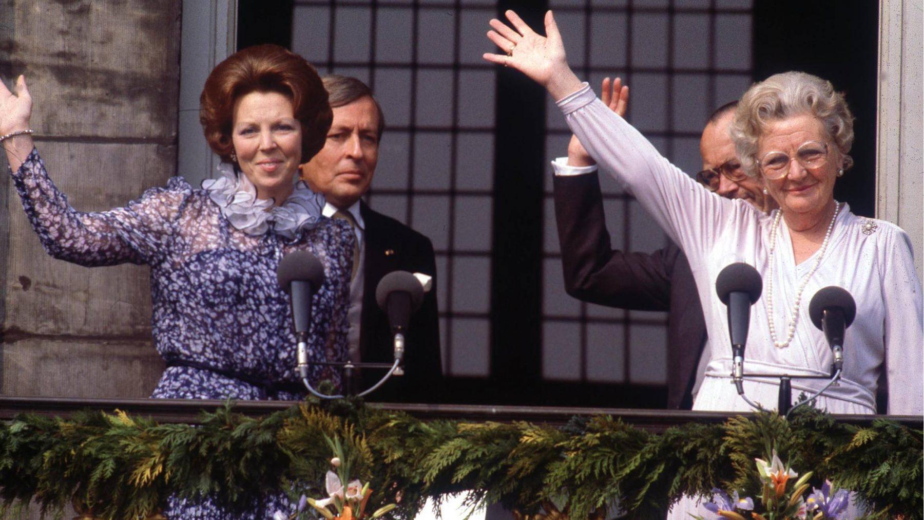 Veertig jaar geleden werd Beatrix onze koningin: 11 x foto's van deze bijzondere dag