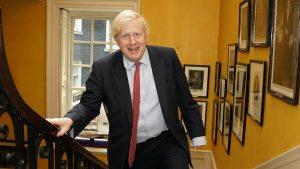 Thumbnail voor Boris Johnson vernoemt zoon naar artsen die zijn leven hebben gered