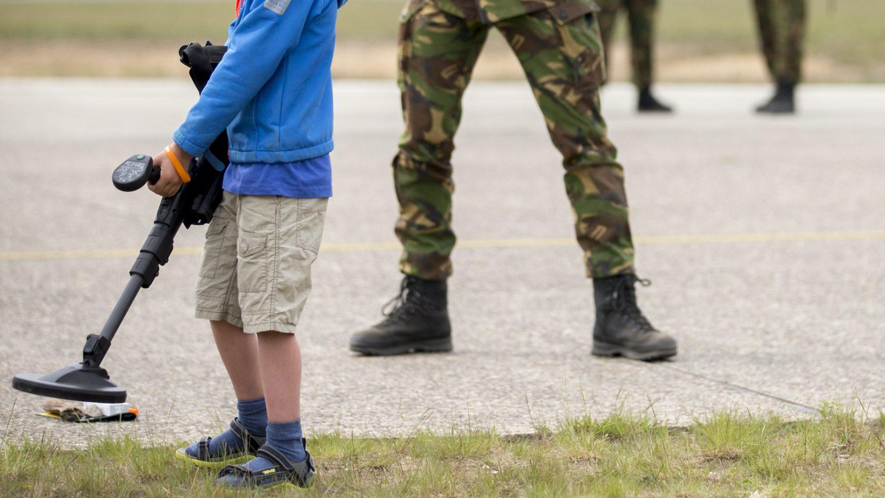 Jongens vinden explosief Tweede Wereldoorlog
