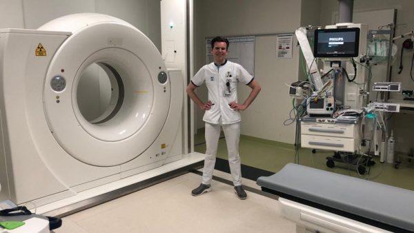 Verpleegkundige Jeffrey Olierook: 'Eens per week kwam de psychiater'