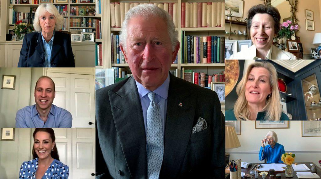 MAAR 1 x GEBRUIKEN Brits Koningshuis bedankt verpleging op internationale dag van de verpleging