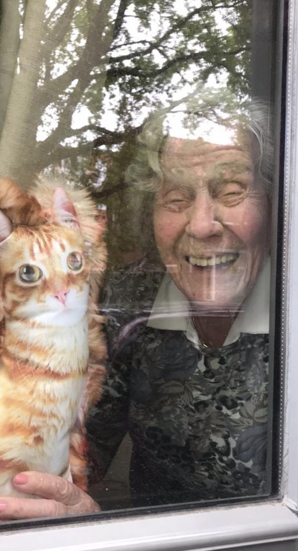 Mireille brengt boerderijen naar mensen met dementie: 'Hij barstte in tranen uit toen hij kippengeluiden hoorde'
