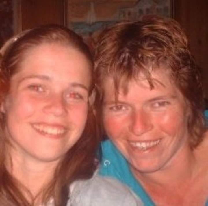 Sharons moeder overleed door bliksem