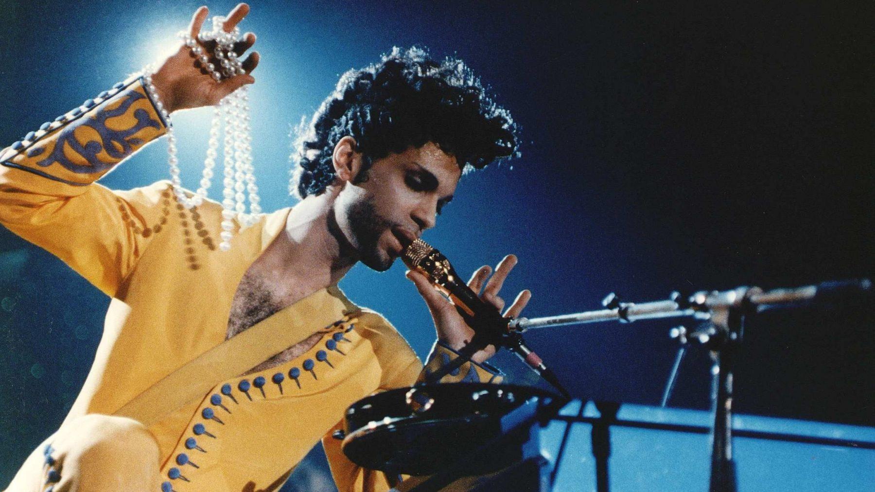 Prince concert uitgezonden YouTube Purple Rain