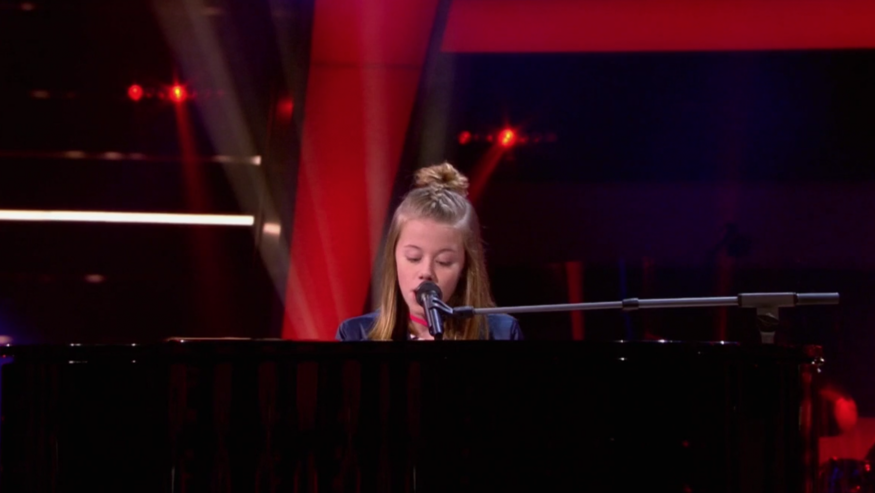 dochter chazia mourali the voice kids