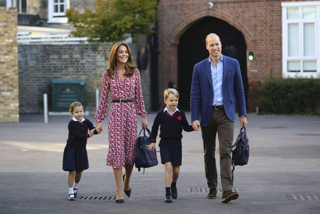 Prinses Charlotte gaat weer naar school... of niet? Kensington Palace zwijgt
