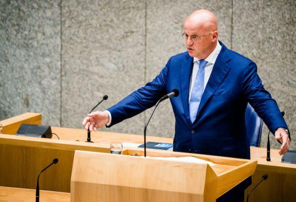 minister Ferd Grapperhaus Justitie