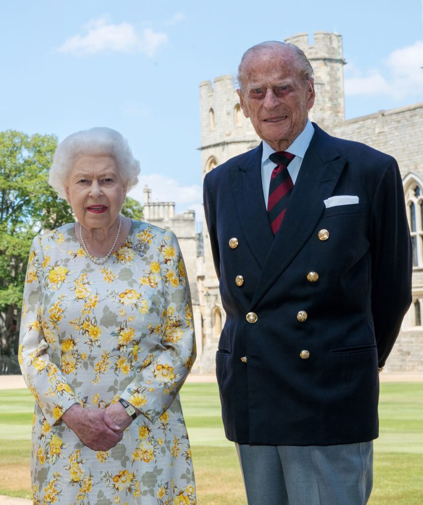 Koningin Elizabeth en Prins Philip ter ere van 99 verjaardag