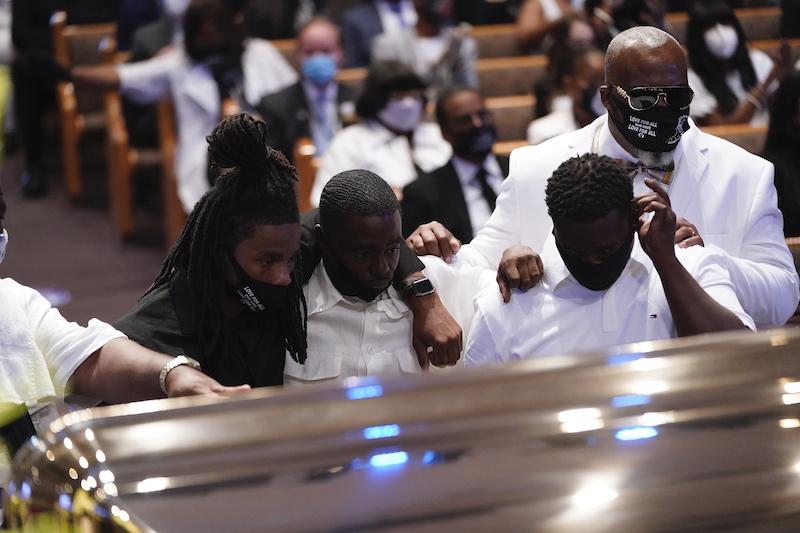 Begrafenis george floyd