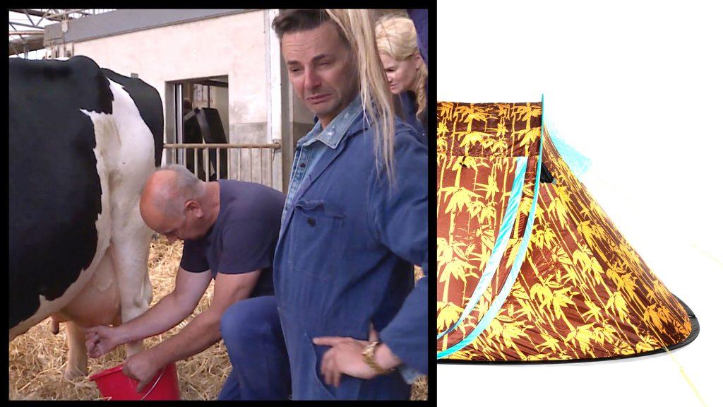 Fred van Leer test het fenomeen 'Glamping' en leert koeien melken