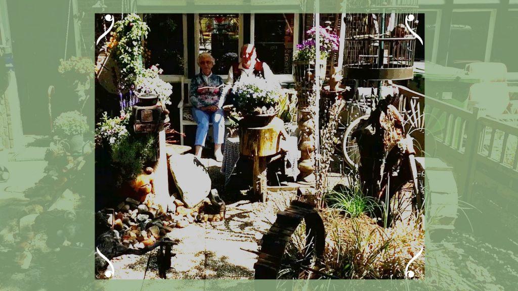 Alex is een ster in recyclen als het gaat om zijn tuin: 'Van niets kan ik iets maken'