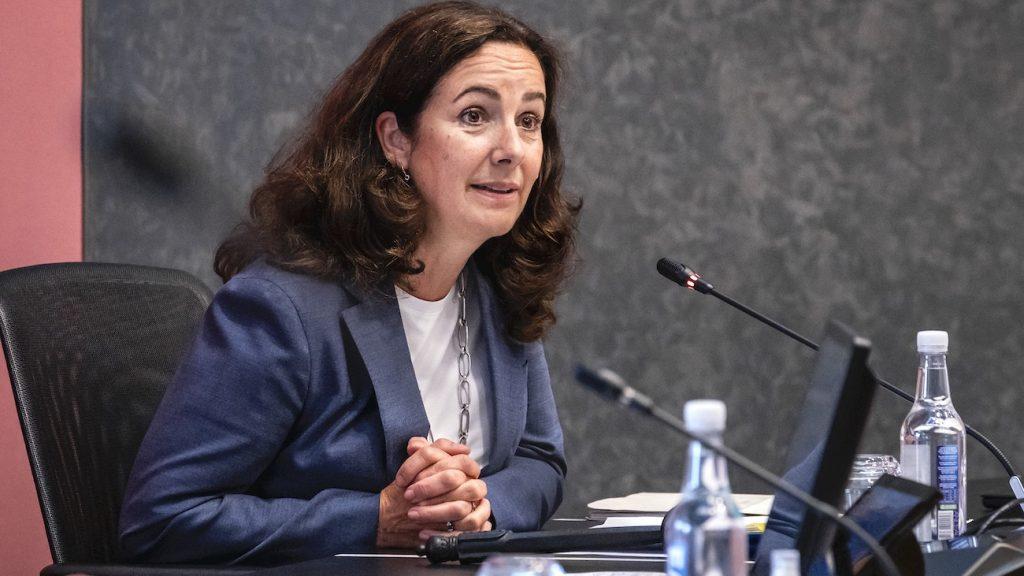 Femke Halsema in debat over demonstratie op de Dam