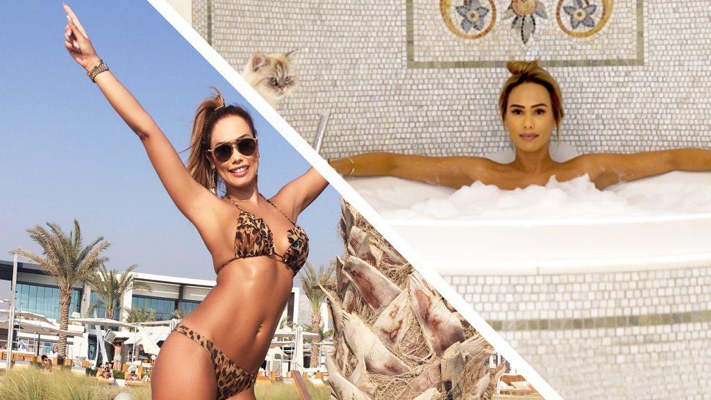 Merel vreest dat ze een shuttlebus moet pakken in het glamoureuze Abu Dhabi