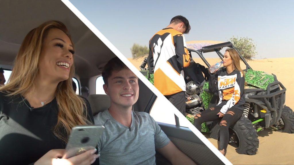 Merel en Cameron gaan buggyriden