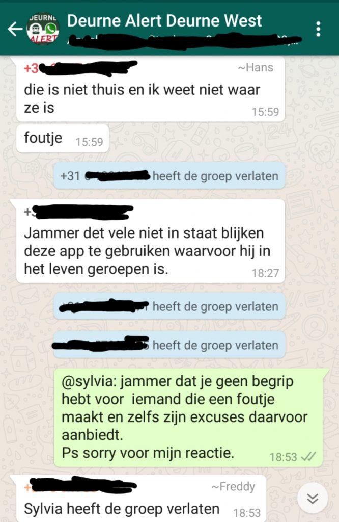 Buurt-whatsappgroepen screenshot