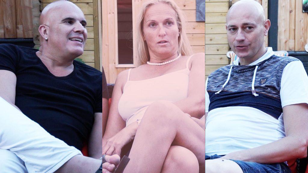Helene en haar mannen denken na over een vierde persoon in hun relatie