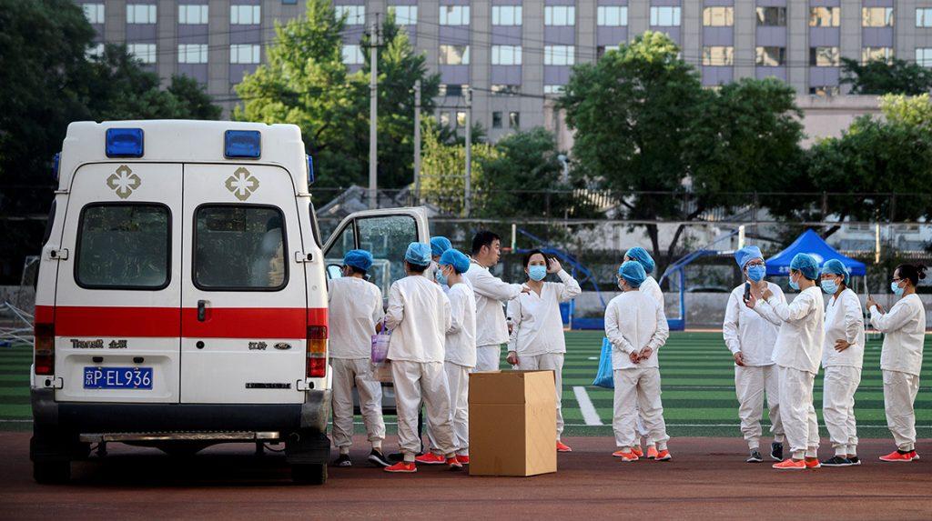 coronavirus peking wijken in lockdown zorgt voor oorlogsmodus