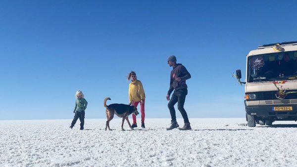 De Labrietjes gaan de zoutvlakte op: 'Voor je het weet ben je op een andere planeet'