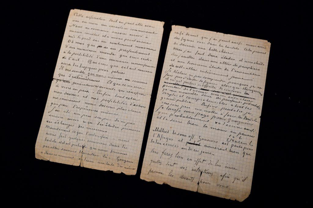 Brief Vincent van Gogh over bordeelbezoek
