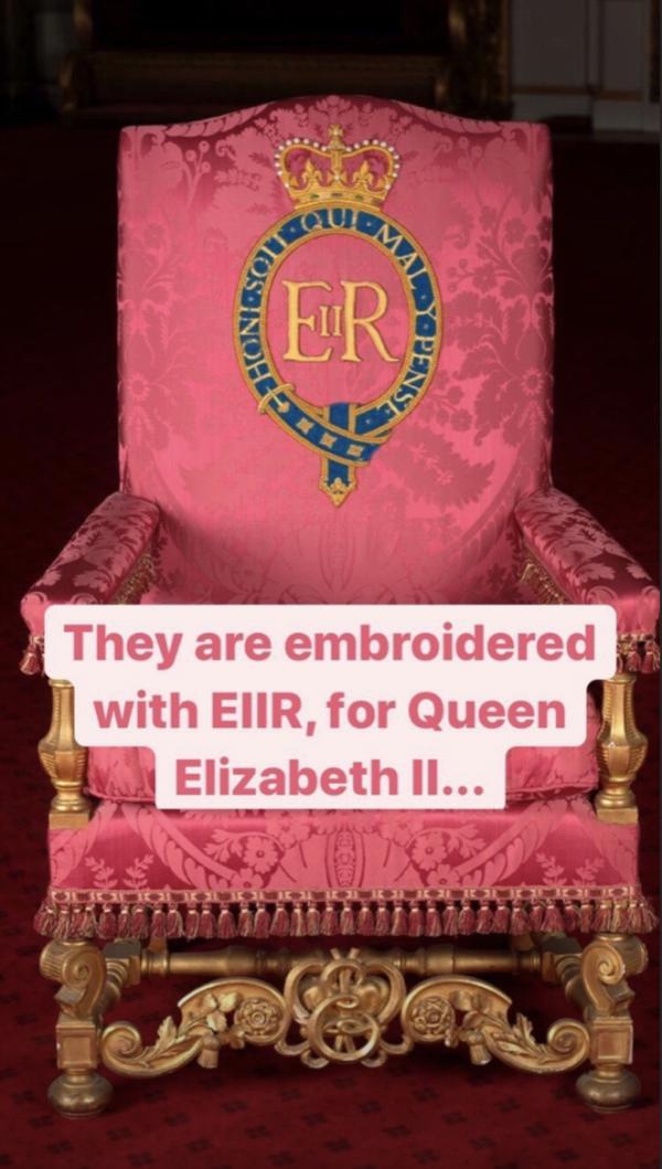 Buckingham Palace foto's koningin Elizabeth