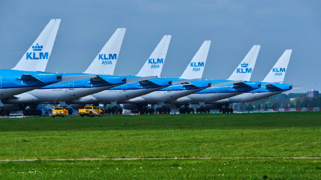 KLM noodsteun