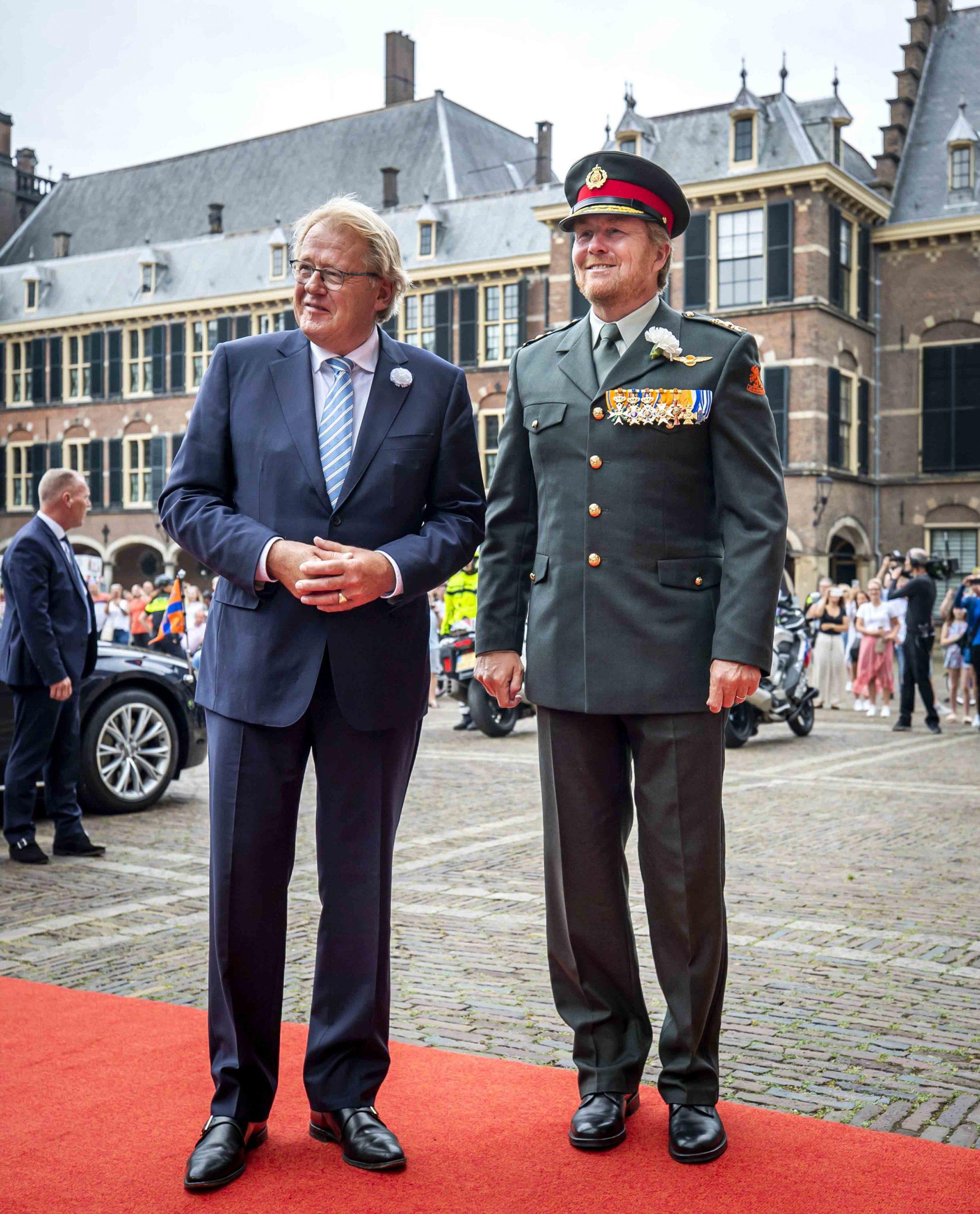 koning willem alexander aanwezig bij nederlandse veteranendag 2020