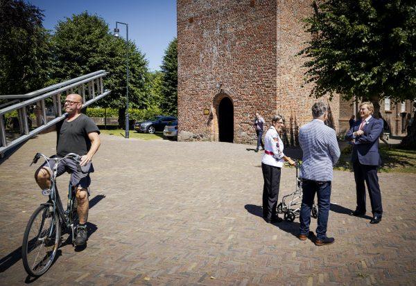 Glazenwasser koning Willem-Alexander